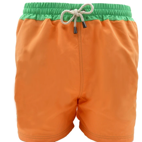 Dagobear Orange and Green belt  Swimsuit