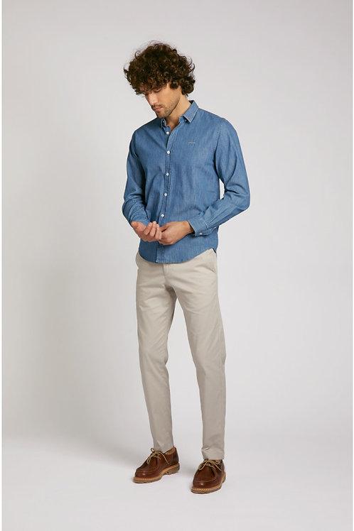 "Maison Labiche blue denim ""French touch Shirt"""