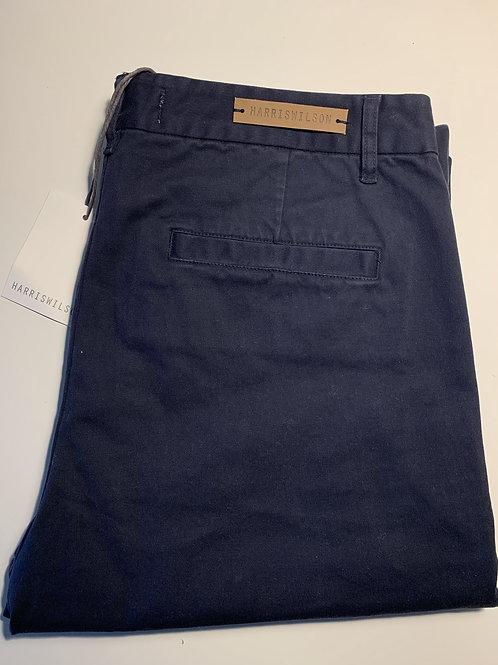 Harris Wilson dark navy chino trousers