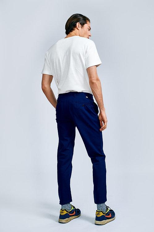 Bellerose Dark navy chino trousers