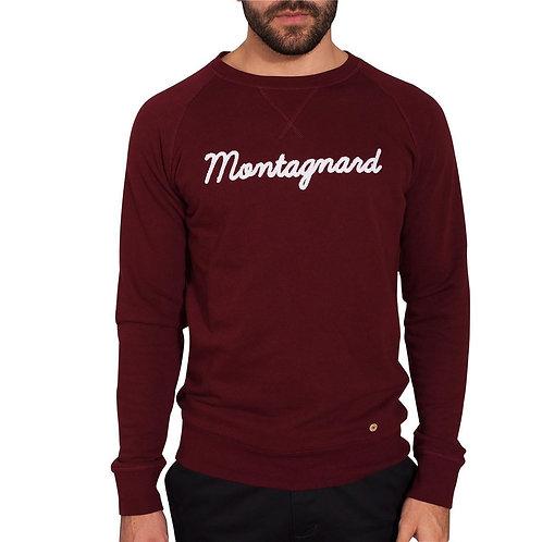"Faguo ""montagnard""porto color sweatshirt"