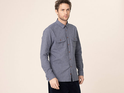 Harris Wilson Slightly checked shirt
