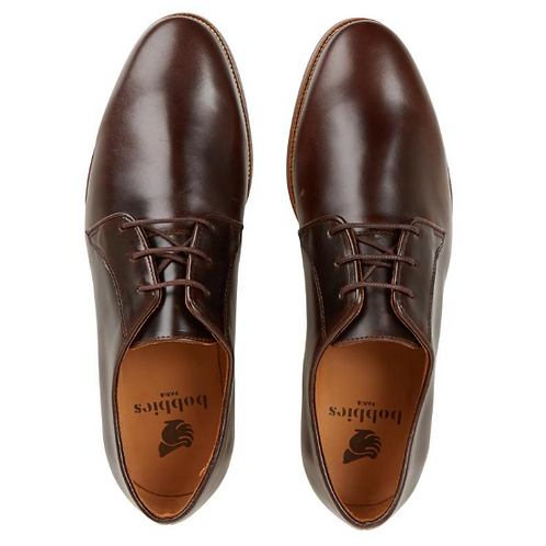 Bobbies le Photographe Bison Brown Leather Shoes