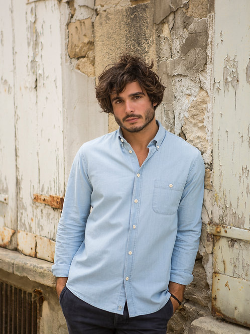 Cuisse de Grenouille Chambray denim Shirt