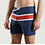Thumbnail: Cuisse de grenouille Blue red and white Swimsuit