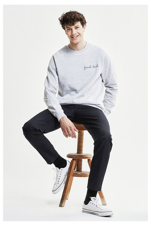 Maison Labiche French Touch Grey Sweatshirt