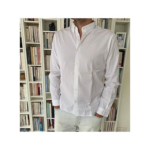 Cuisse De Grenouille white popeline shirt