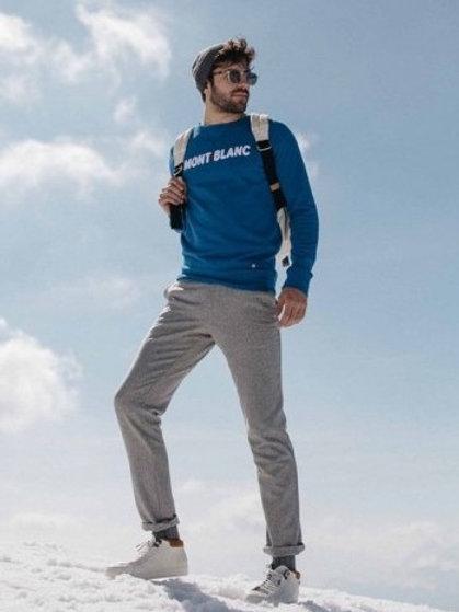 """Faguo Klein Blue """"Mont Blanc"""""""