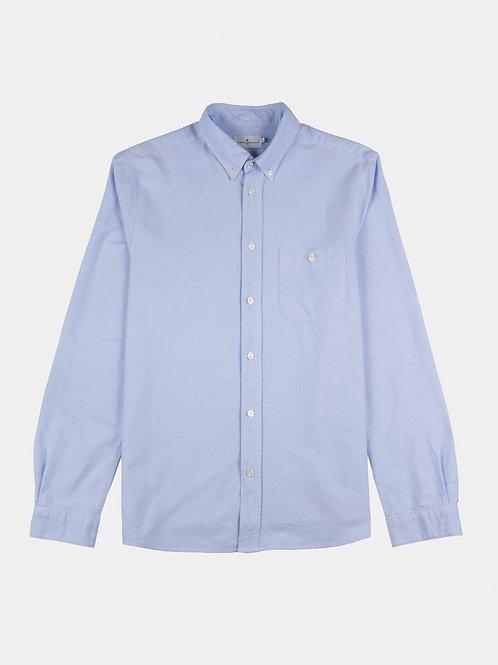Cuisse De Grenouille Oxford Sky Blue shirt