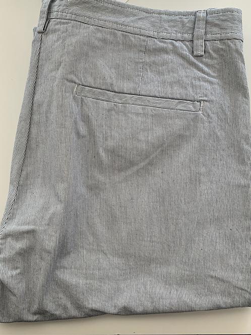 Harris Wilson blue and white chino trousers