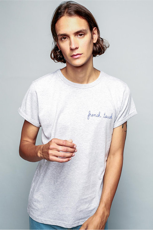 """Maison Labiche heavy grey tee-shirt""""French Touch"""""""
