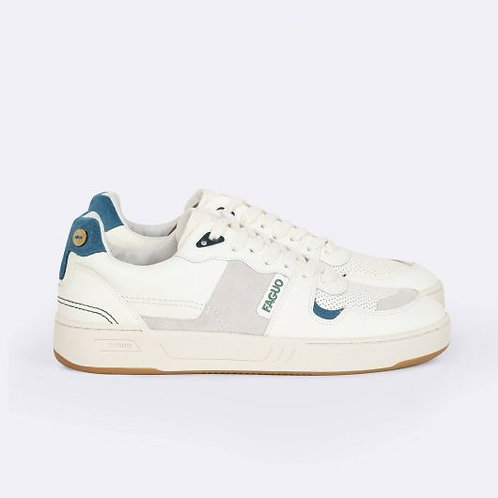 Faguo cceibla sneakers cream and blue
