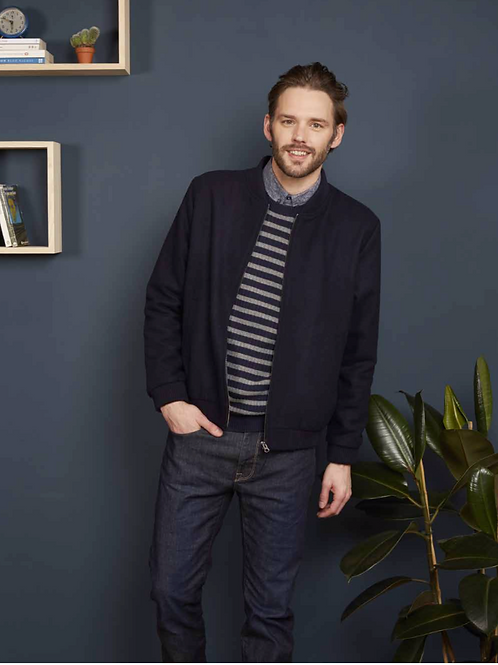 Harris Wilson Navy Blue Jacket