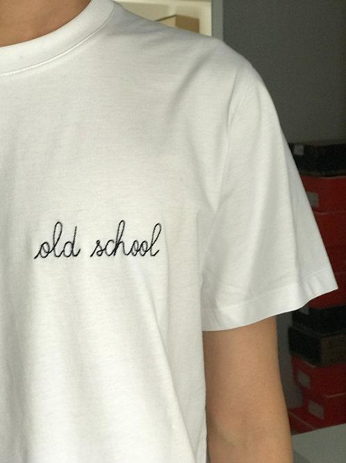"Maison Labiche white""old school"" tshirt"