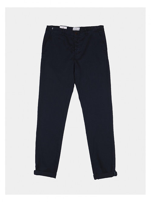 Cuisse de Grenouille Dark Navy Chino Trousers