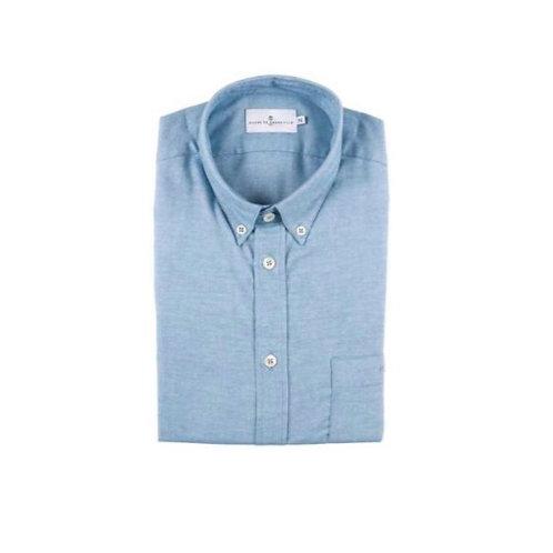 Cuisse de Grenouille Light Blue Twill Shirt FAN02