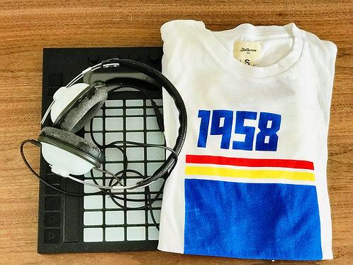 Bellerose vintage style T shirt 1958