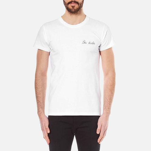 "Maison Labiche ""The Dude"" white Tshirt"