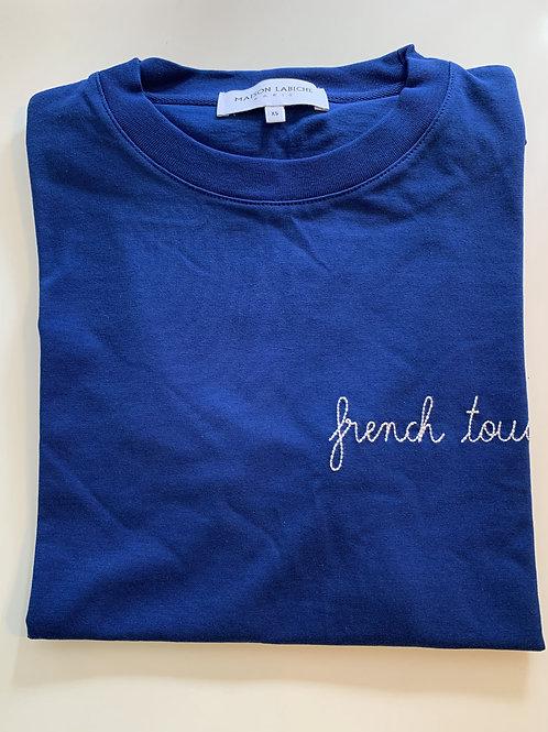"Maison Labiche blue ""French touch ""tshirt"