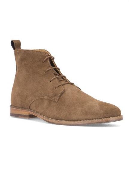 Bobbies L'explorateur brown Suede leather