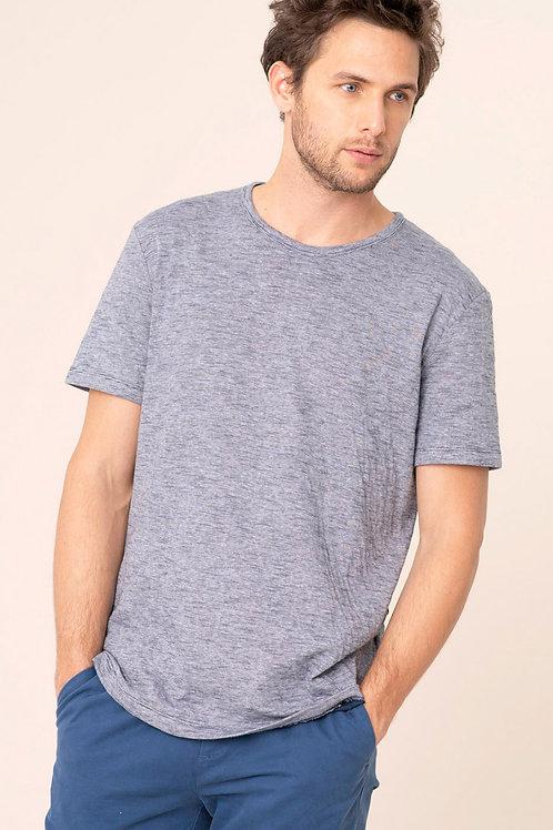 Harris Wilson striped blue and white vladis t shirt
