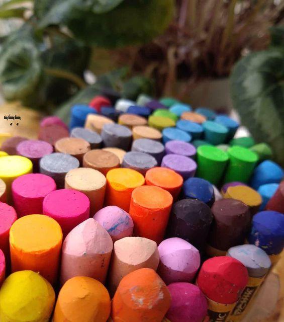 צבעי פסטל שמן