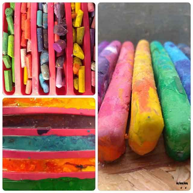 הכנת צבעים חדשים משאריות צבע