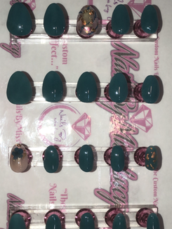 Short Rounded Nails