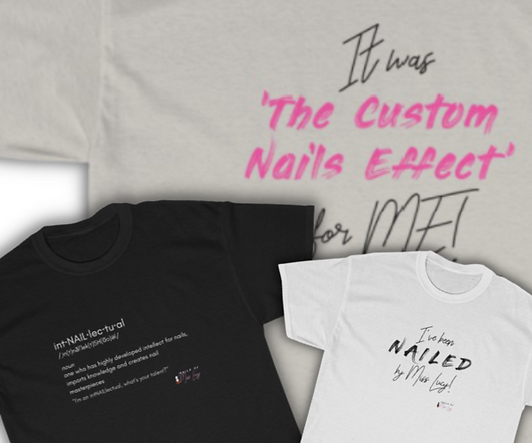 Nails By Miss Lucy - T-Shirt Banner Back