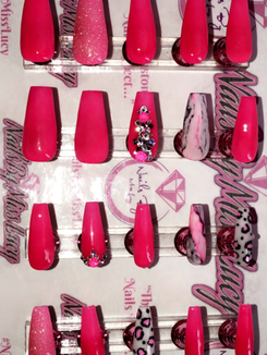 Long Coffin Nails