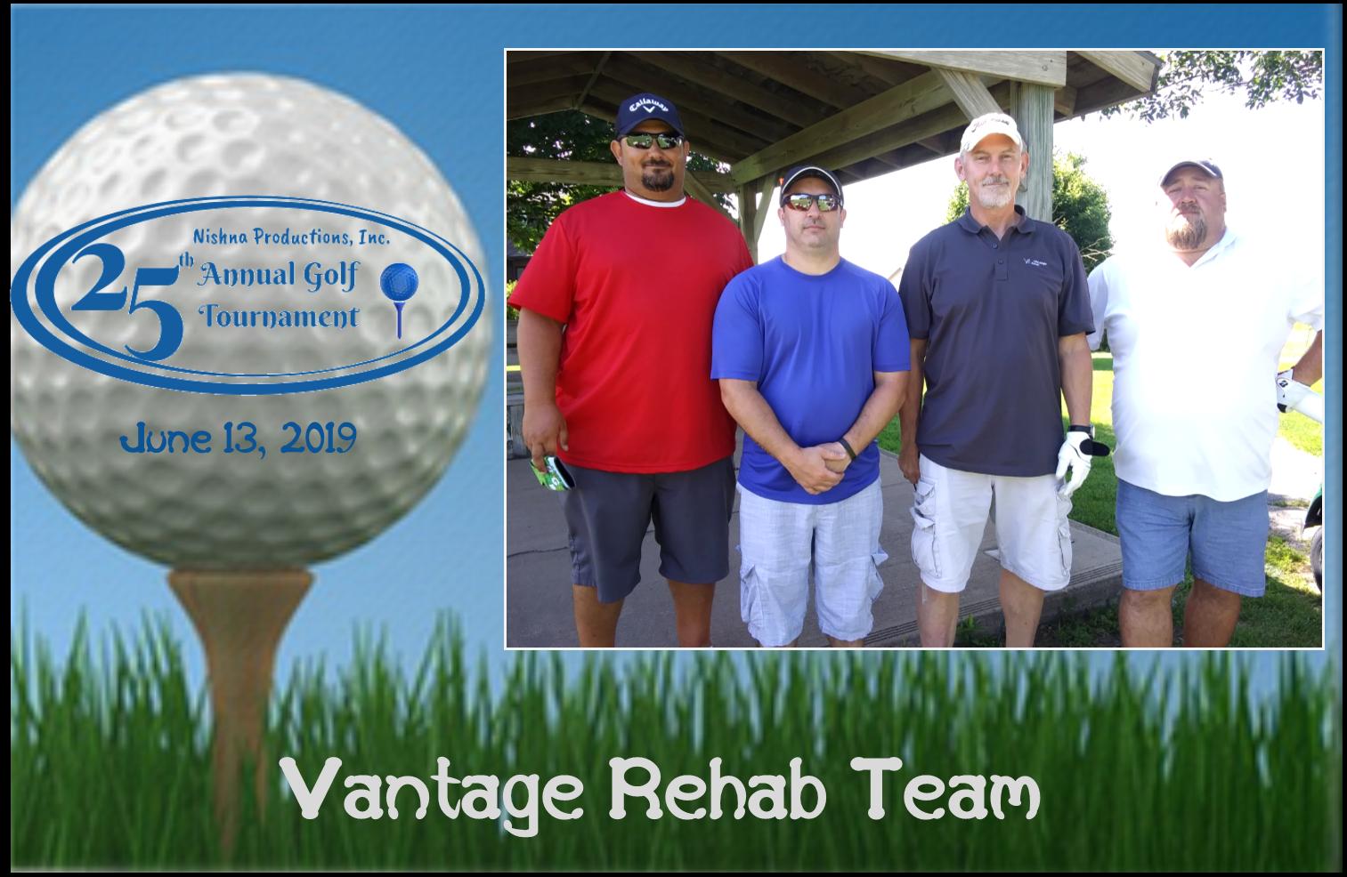 Vantage Rehab Team