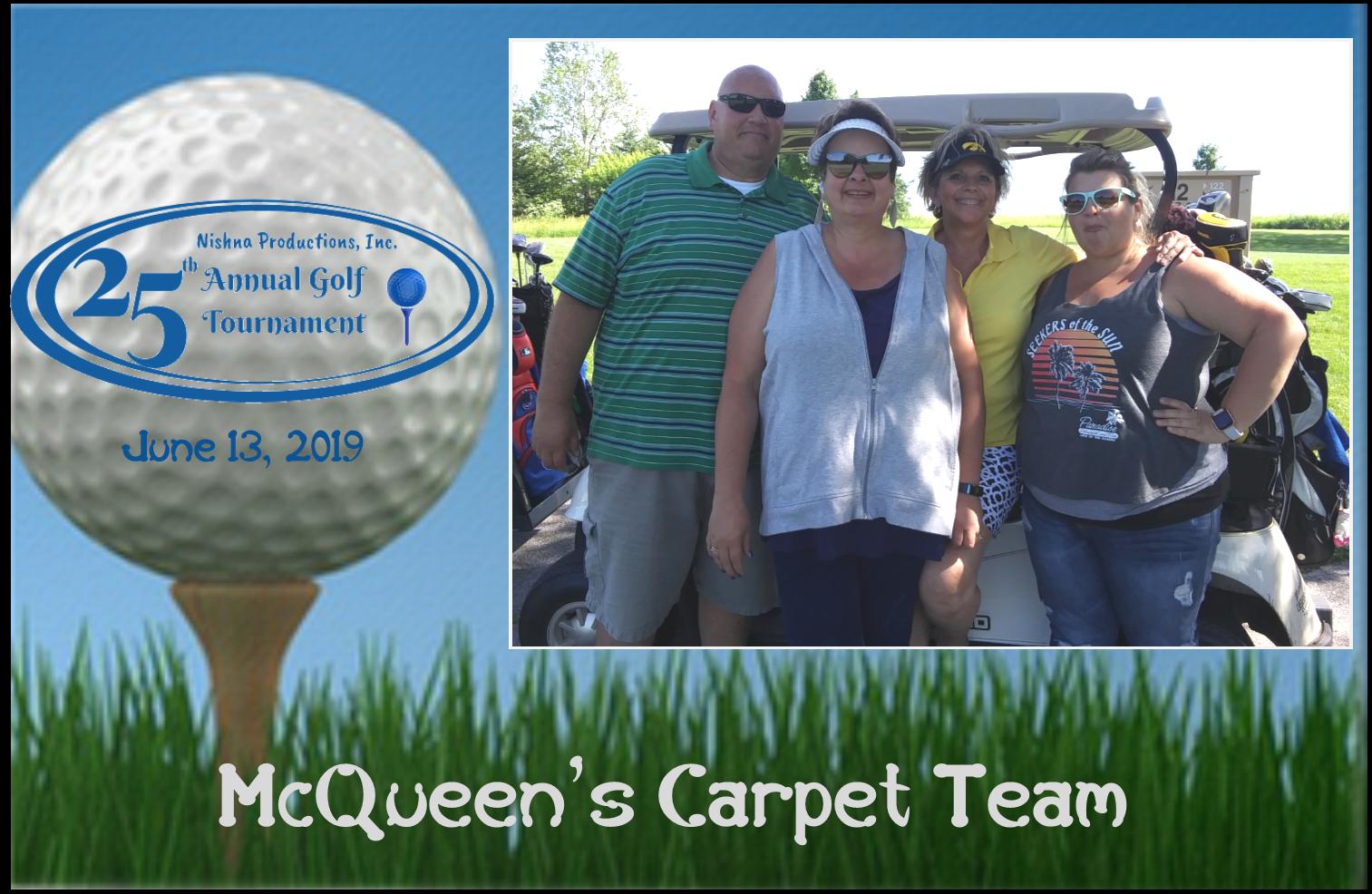 McQueen's Carpet Team