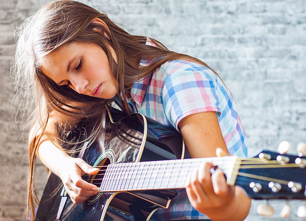 Guitar Lessons St Albans Teen Student