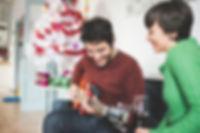 Chirstmas guitar lesson St Albans Inspir