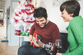 Chirstmas guitar lesson St Albans Inspir