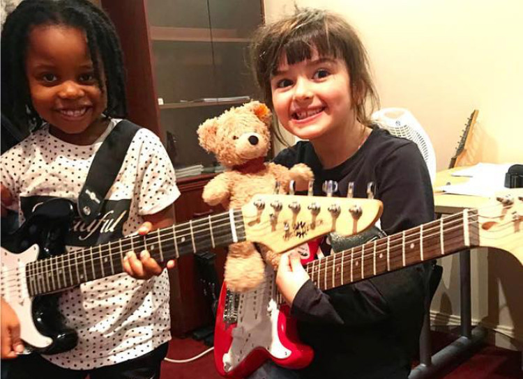 St Albans Guitar Students ages 5-6
