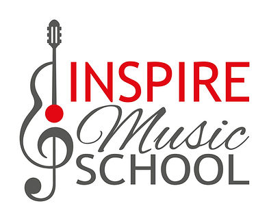 Inspire Music School guitar lesson logo for St Albans