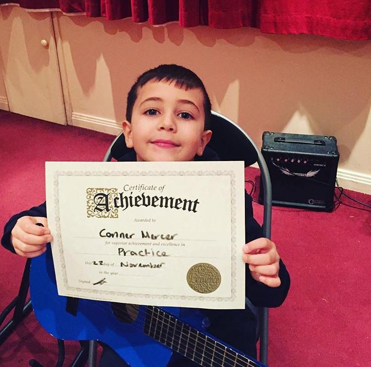 St Albans Guitar Student ages 5-6 1