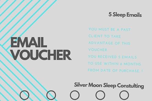 5 Email Voucher