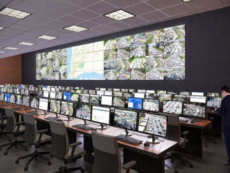 VideoWall em Salas de Controle