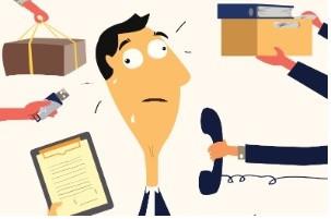 Você está mais sobrecarregado?