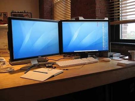 Saiba como usar dois monitores para trabalhar Home Office