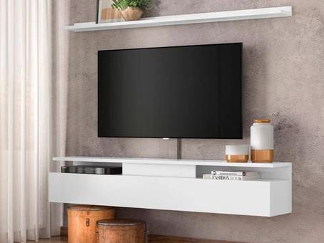 Por que instalar a sua TV em um suporte?