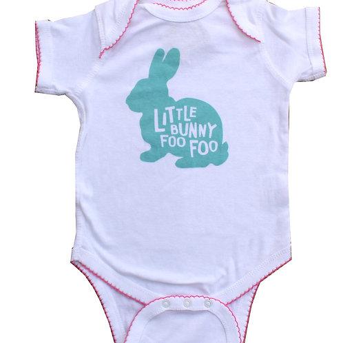 Little Bunny Foo Foo Girl Onesie
