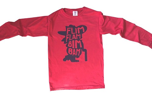 Flim Flam Red Longsleeve