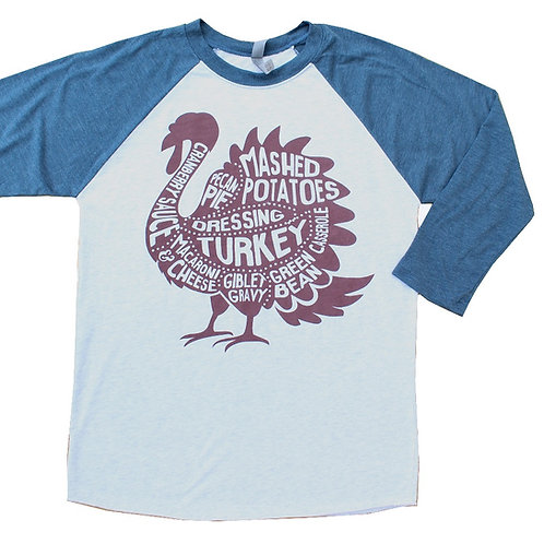 Turkey Raglan
