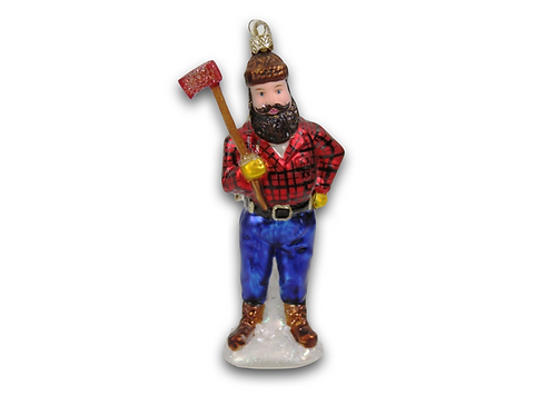 Woodsman Ornament