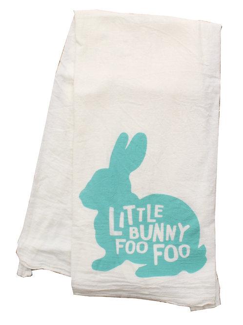 Little Bunny Foo Foo Towel