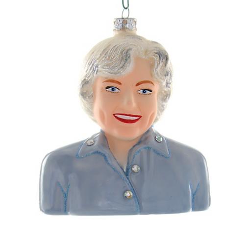 Betty White Ornament