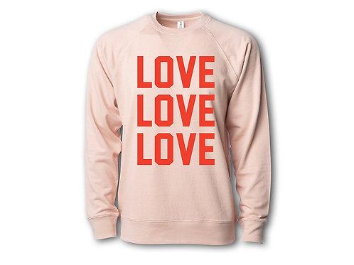 Love Love Love Sweatshirt